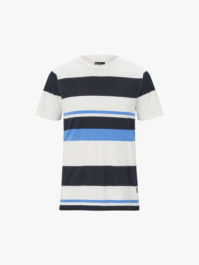 Longitude Stripe T-Shirt