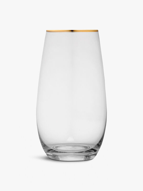 Chloe Clear Hiball Glass