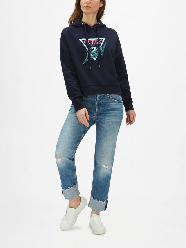Hoody Icon Fleece Sweatshirt
