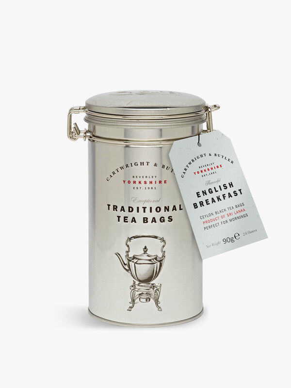 English Breakfast Tea  Bags Tin 75g