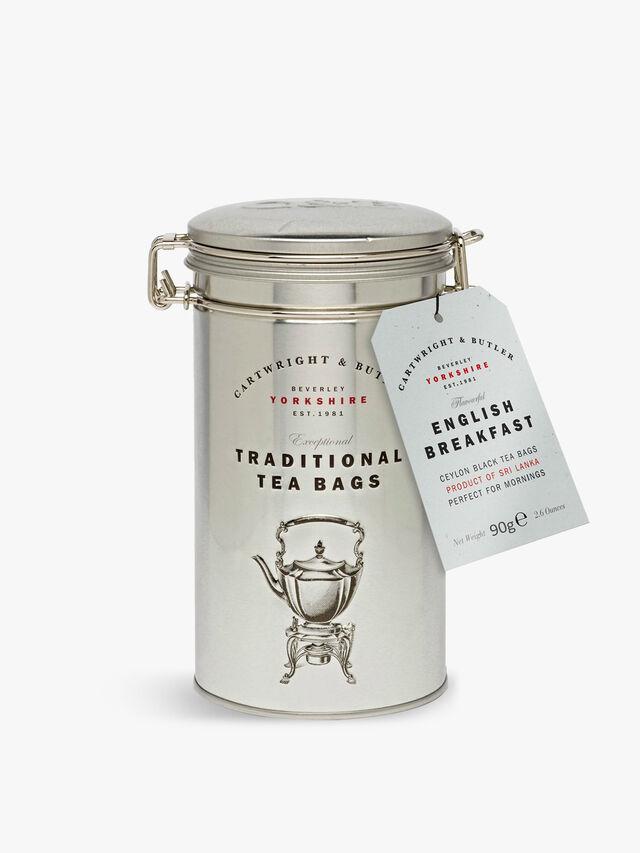 English Breakfast Tea  Bags Tin 75g