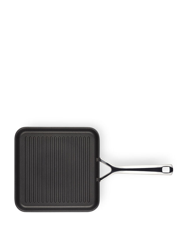 Long Handled Square Grill 23cm