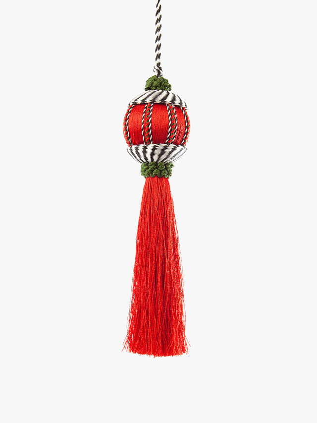 Happy Holidays Tassel Ornament