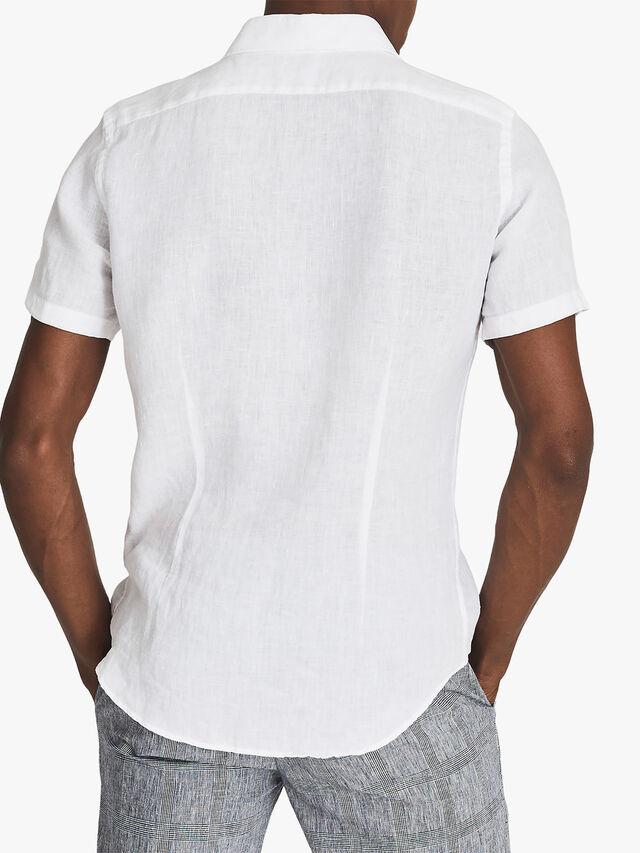 HOLIDAY Linen Slim Fit Shirt