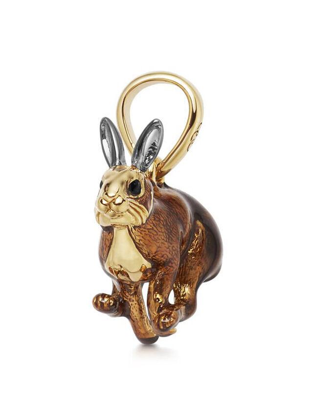 Brown Hare Charm Pendant