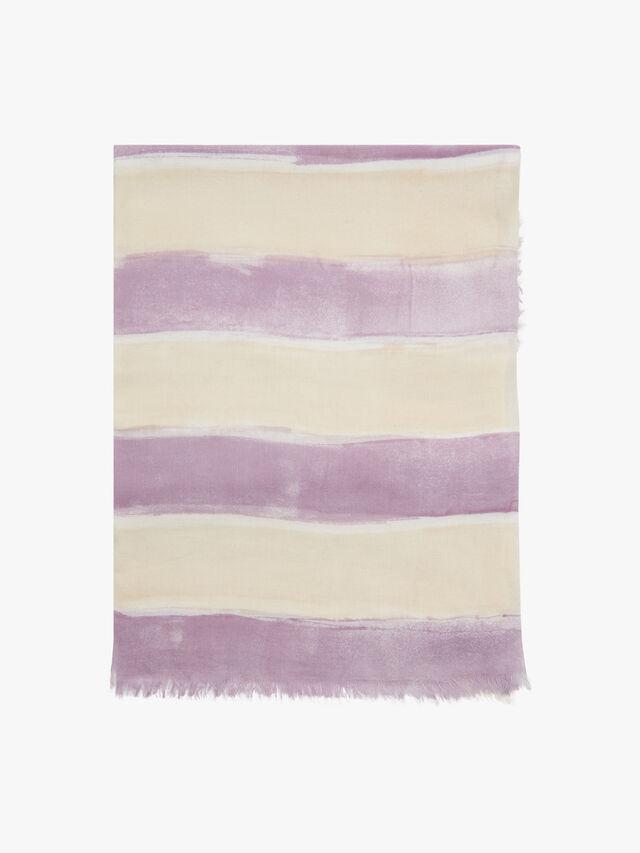 Yasmin Mega Stripe Floral Scarf