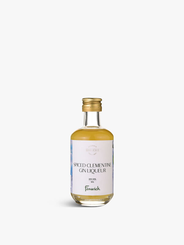 Northumbrian Spiced Clementine Liqueur 5cl