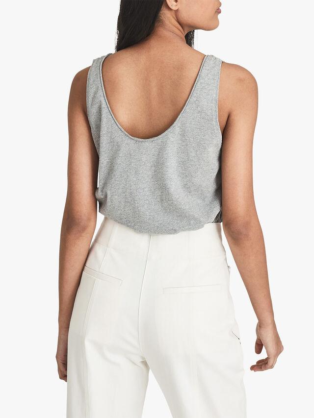 BRIE Cotton-jersey Vest Top