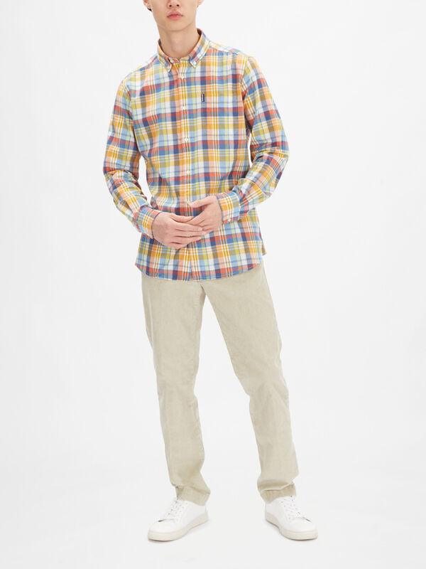 Madras 10 Tailored Shirt