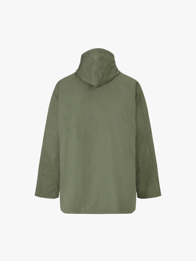 Zip Up Proofed Cotton Anorak