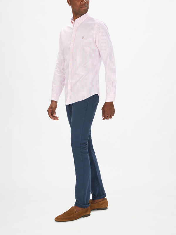 Oxford Long Sleeve Slim Fit Shirt