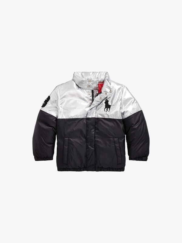 Polo Bear Foil Down Jacket