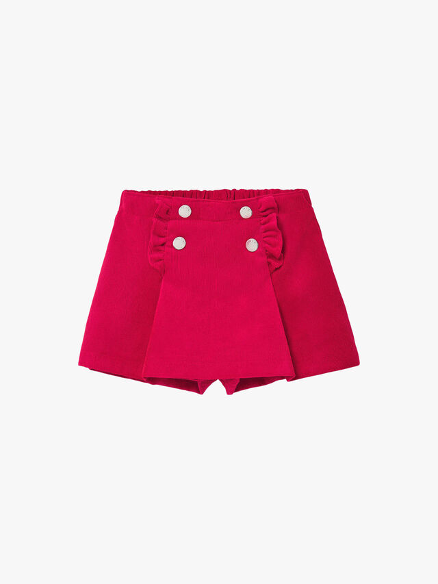 Button Trim Shorts