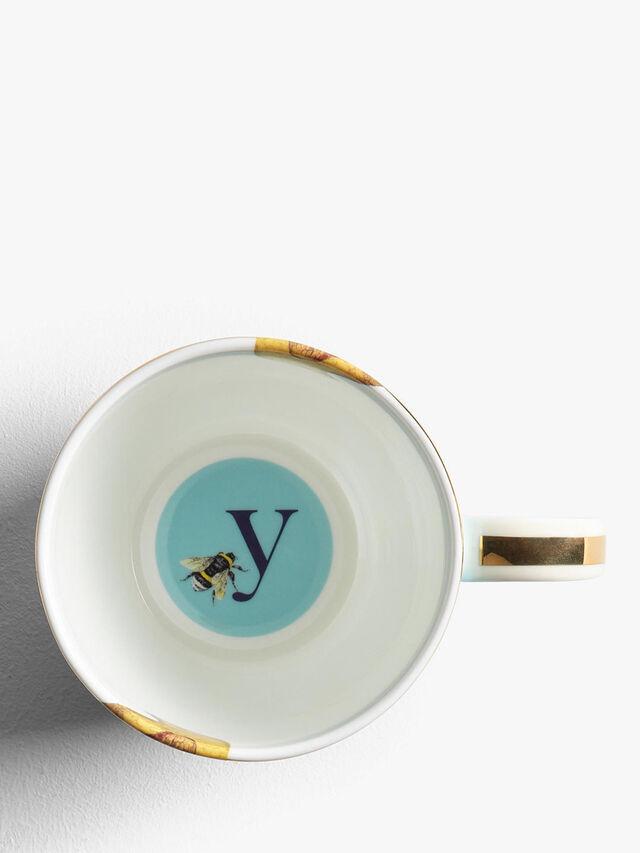 Alphabet Mug Y