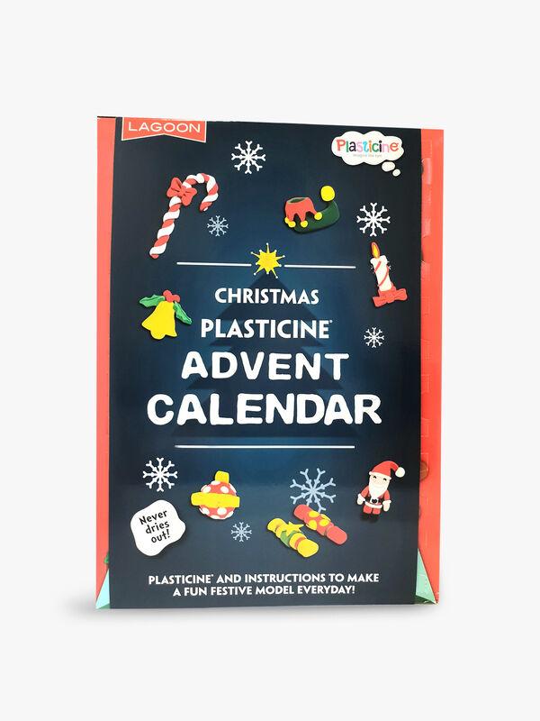 Plasticine DIY Advent Calendar
