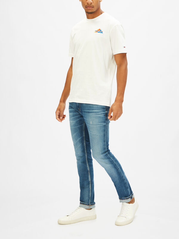 Embroidered Mountain T-Shirt