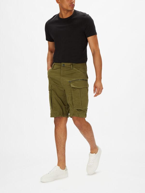 Rovic Zip Loose Shorts