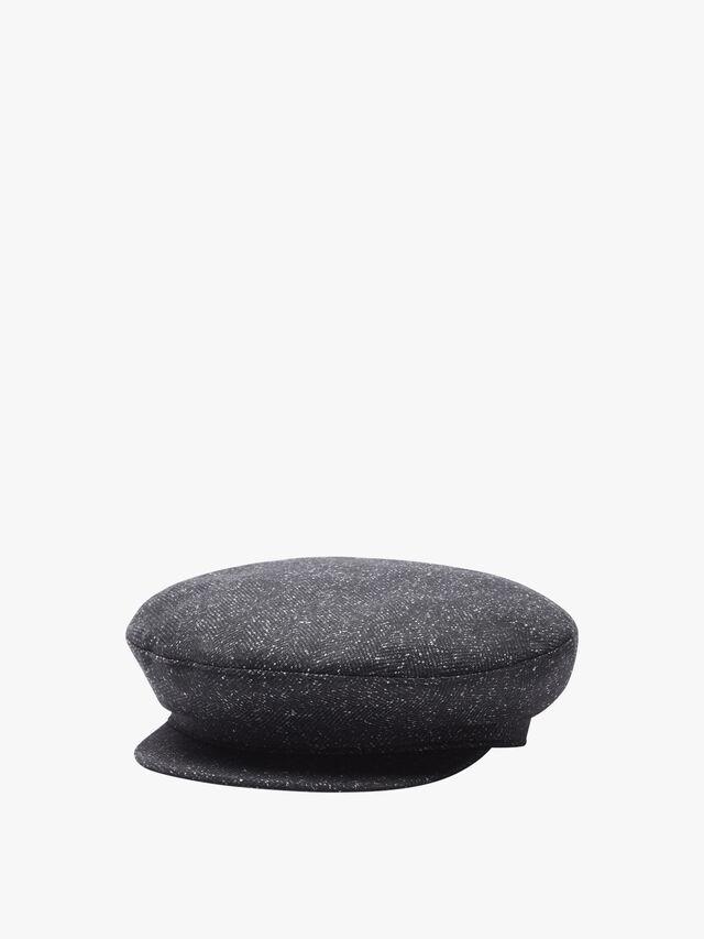 Houndsthooth bucket hat