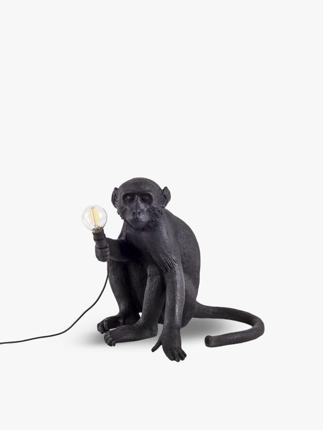 Monkey Lamp Sitting