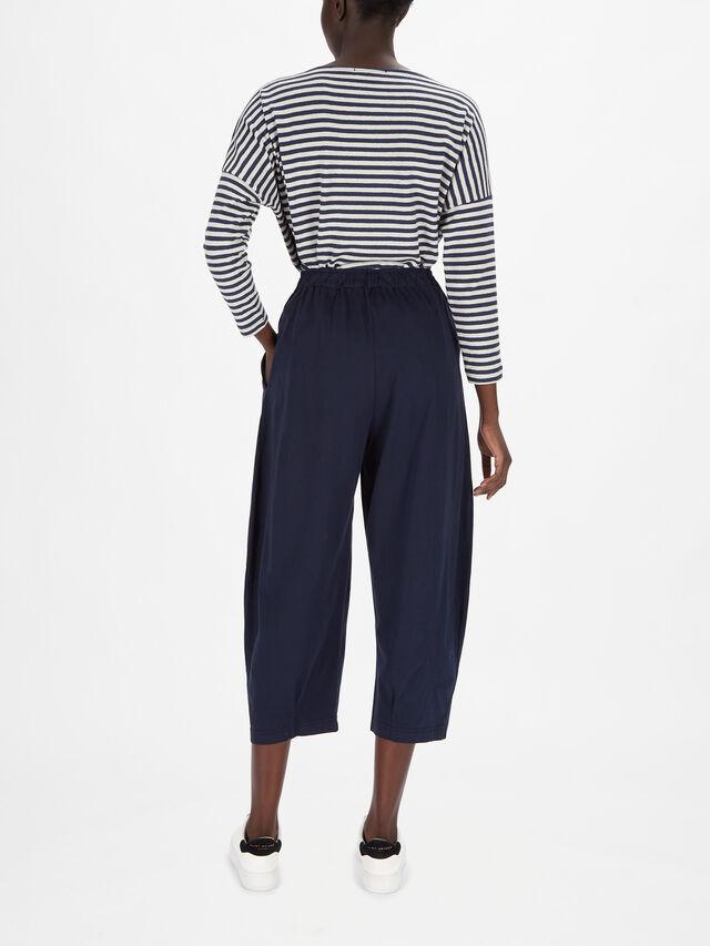 Zip Front Lantern Trouser