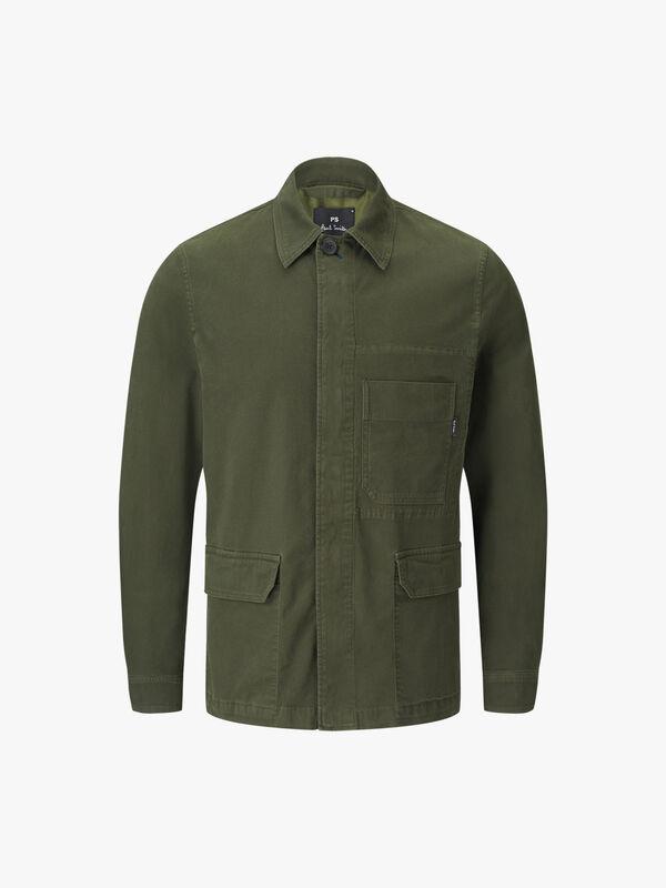 Cropped Field Jacket