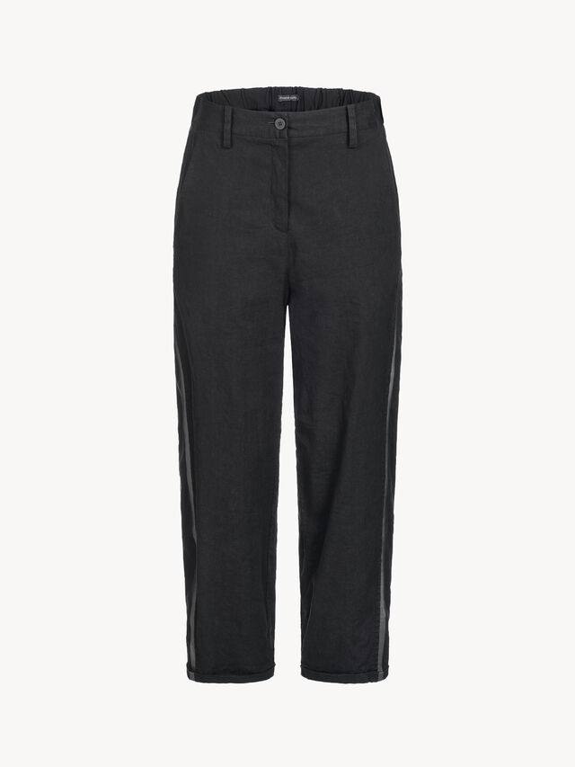 Linen Crop Trousers