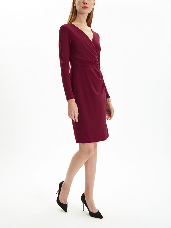 Nemota Long Sleeve Day Dress