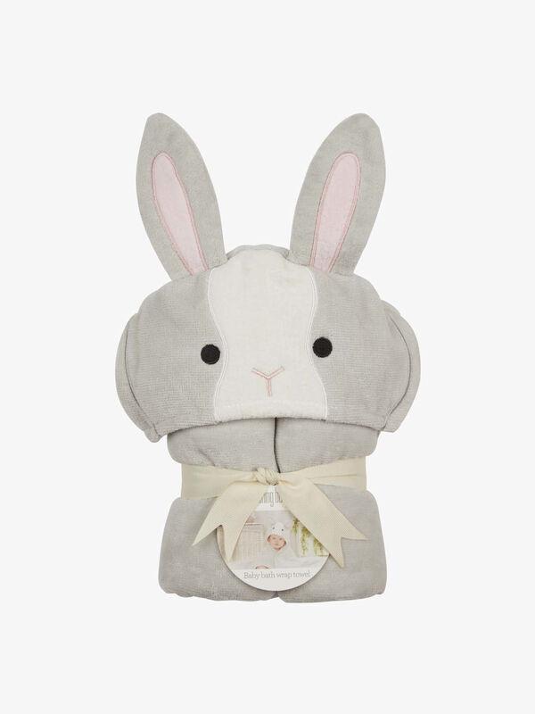 Sweet Pea Bunny Baby Towel