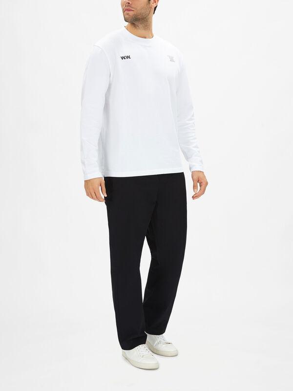 Back Print Long Sleeve T-Shirt