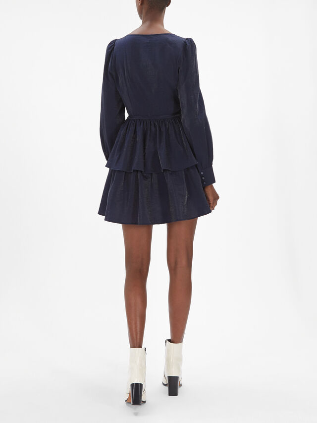 Akeisha Tiered Short Dress