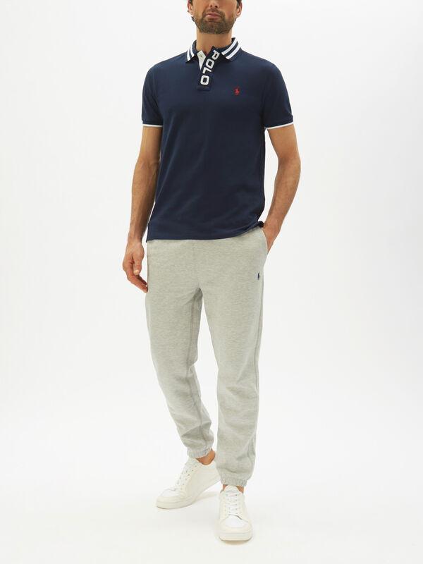 Custom Slim Fit Tipped Polo Shirt