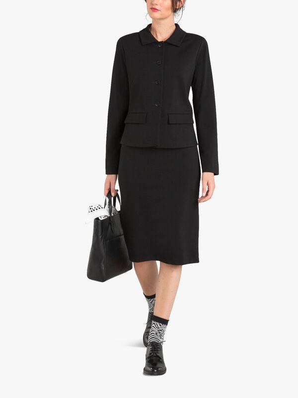 Black Milano Rainette Jacket