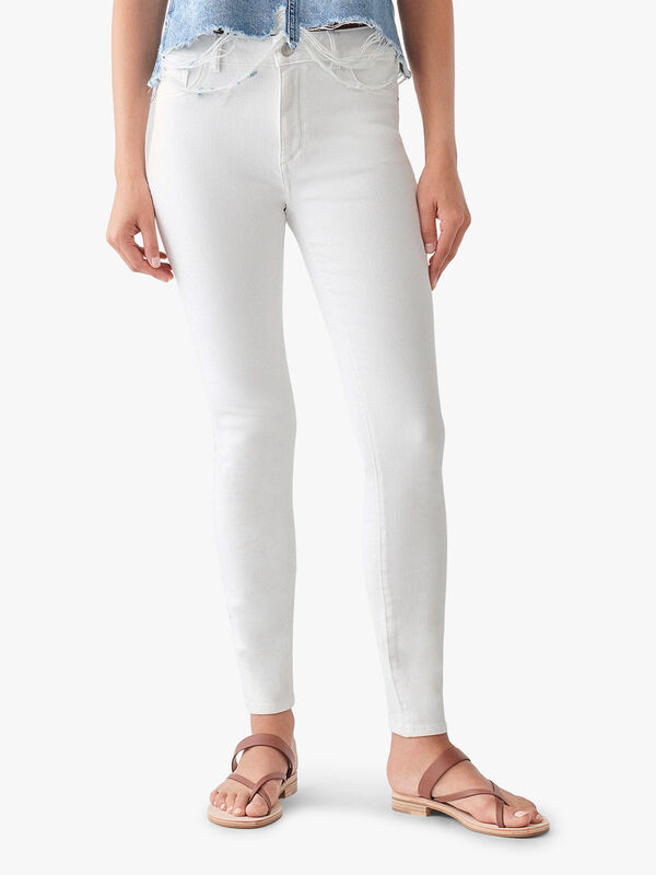 Florence Ankle Mid Rise Skinny Jeans