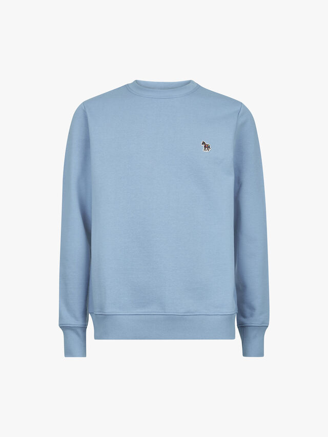 Zebra Logo Organic Cotton Sweatshirt