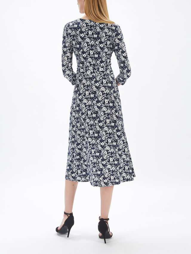 Carlyna 3/4 Sleeve Day Dress