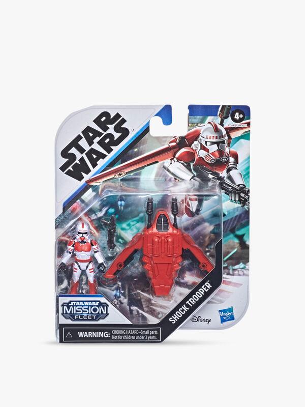 Star Wars Mission Fleet Gear Class Shock Trooper Secure the City