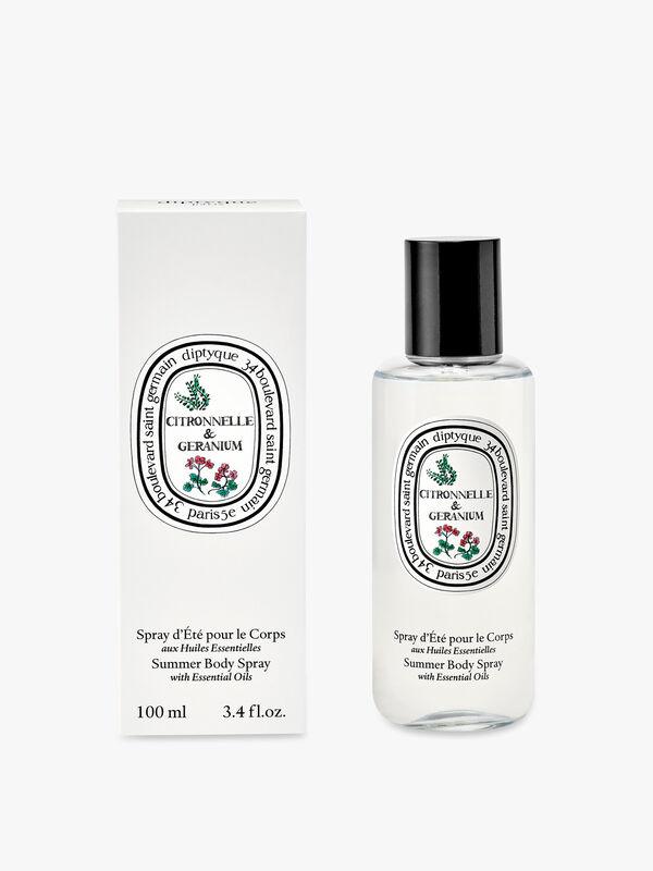 Citronnelle & Geranium Summer Body Spray Limited Edition