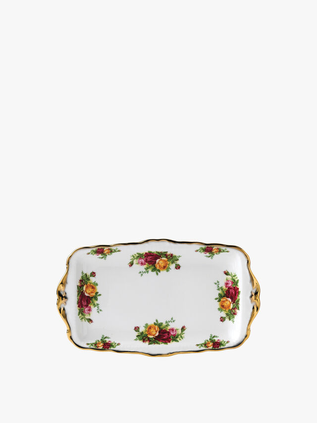 Old Country Roses Sandwich Tray 30cm