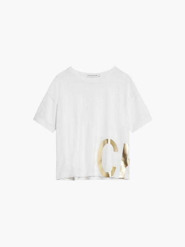 Boxy Foil Logo T-Shirt