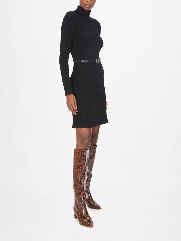 Ecovero Belt Dress