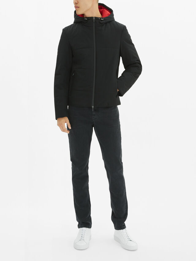 KORS X TECH Hooded Puffer Jacket