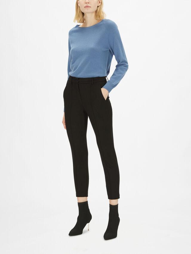 Oca Jersey Slim Ankle Trousers