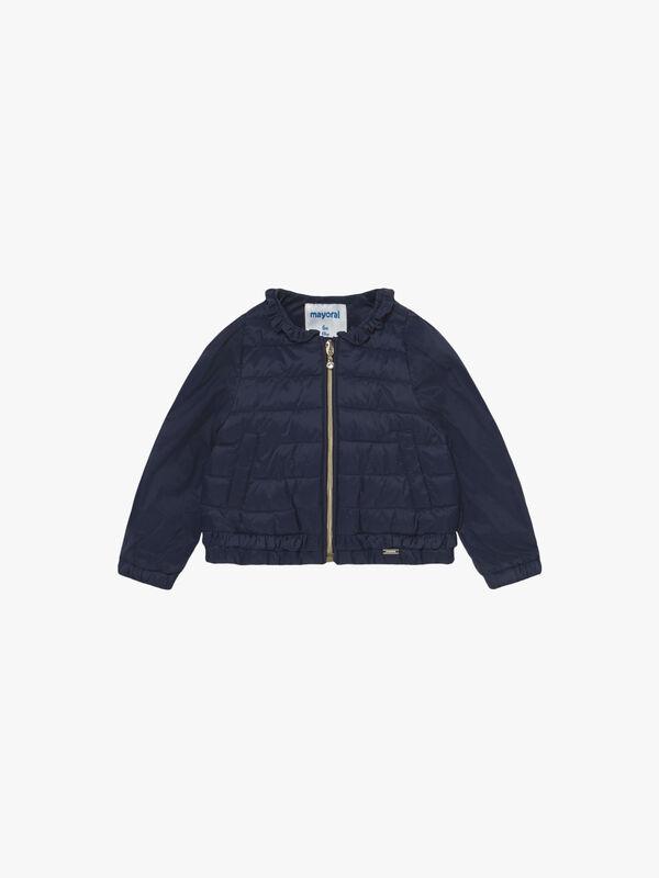 Puffa with Frill Jacket
