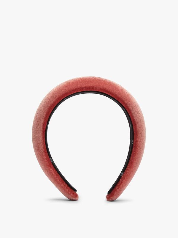 Plain Velvet Padded Headband