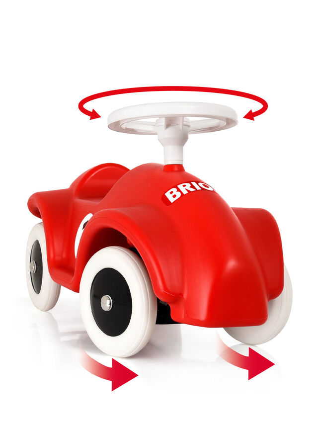 BRIO Ride On Race Car