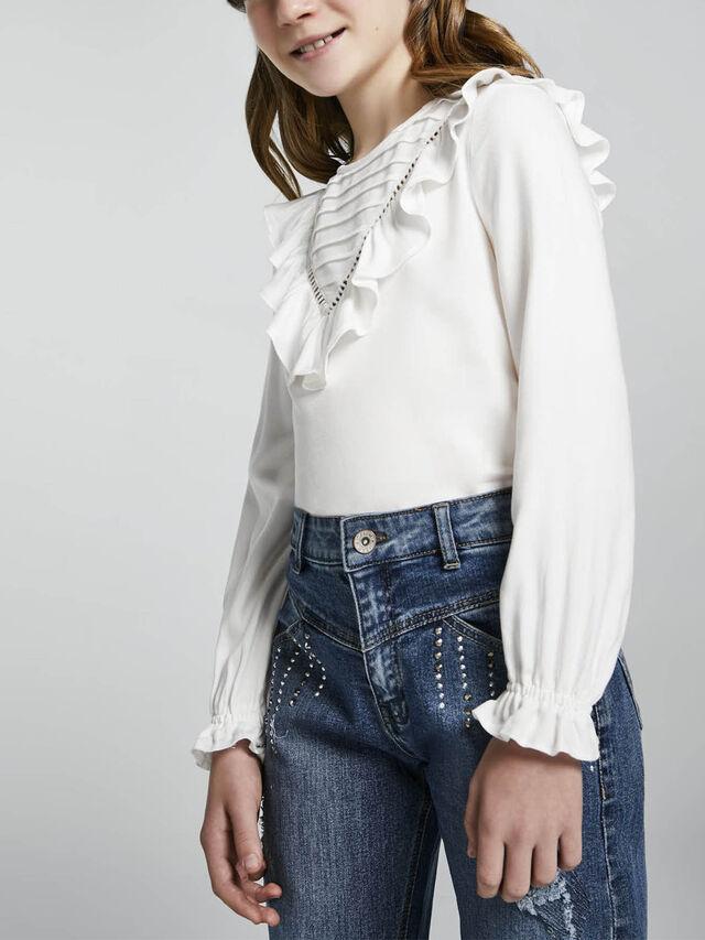 Casing blouse
