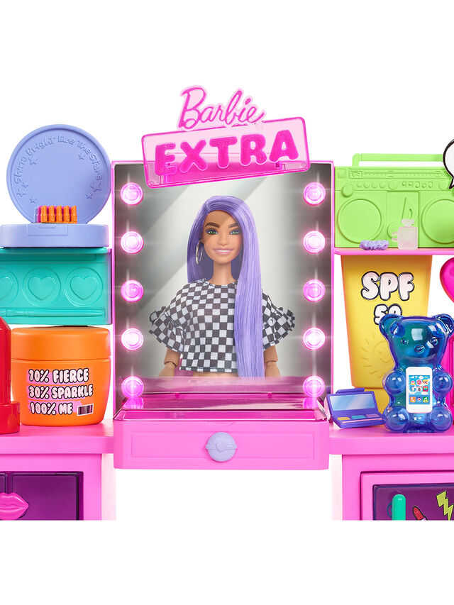 Extra Doll and Playset