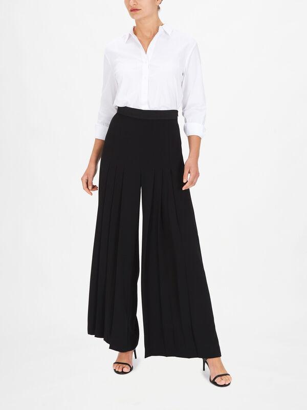 Galli Pleated Drape Trousers