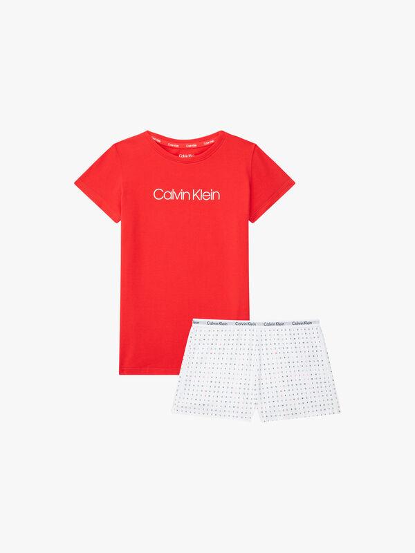 T-Shirt and Shorts Pyjama Set