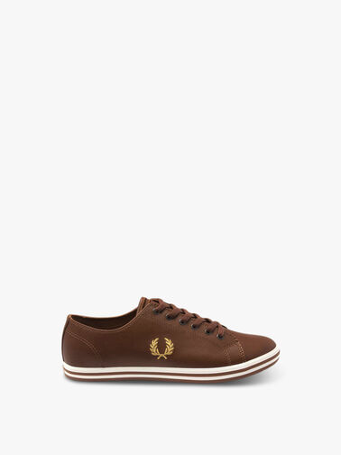FRED-PERRY-Kingston-Leather-Trainers-KINGTANL